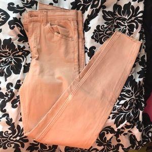 Pale Pink Jamie jeans